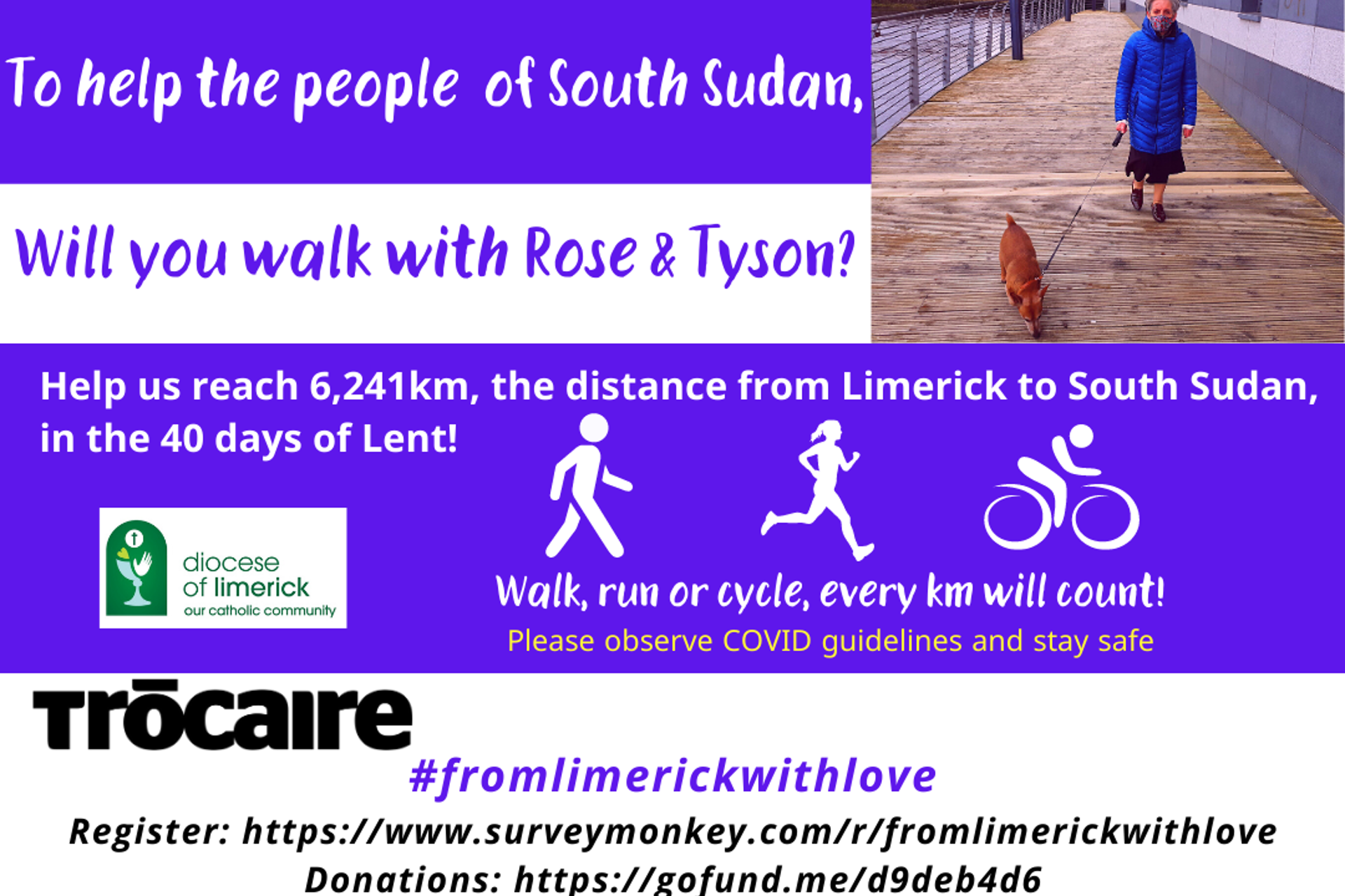 Will you walk with Rose & Tyson?